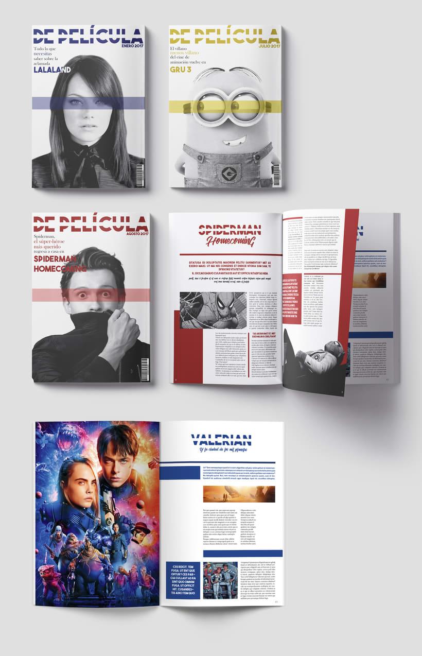 """Revista """"De Película"""" 1"""