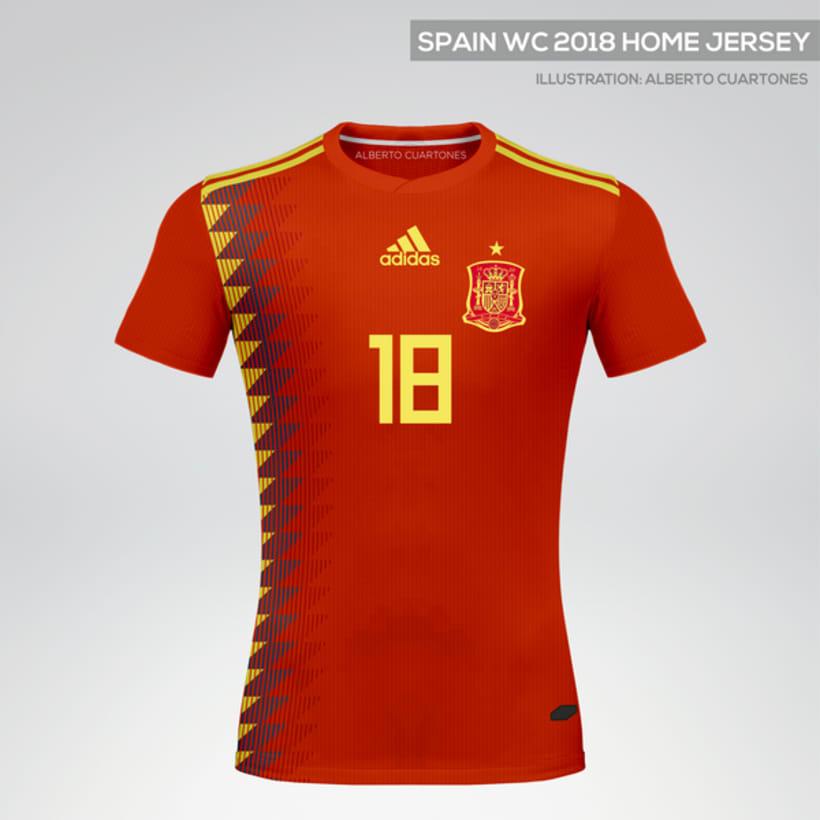 Equipaciones España Mundial 2018 0