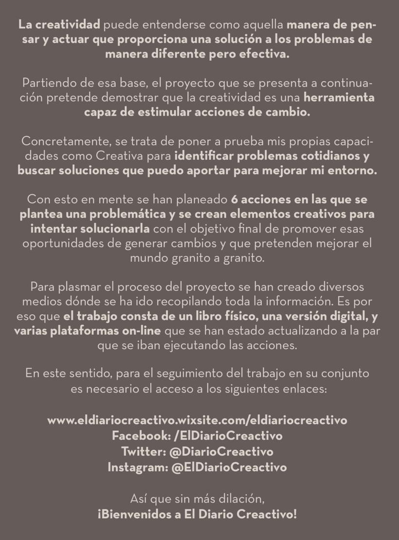 El Diario Creactivo | Estimulando acciones de cambio Creativas 2