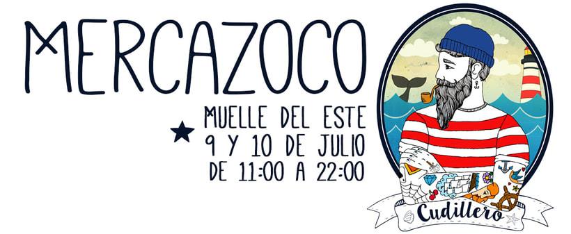 lIlustración para Mercazoco Cudillero (Julio 2016) -1