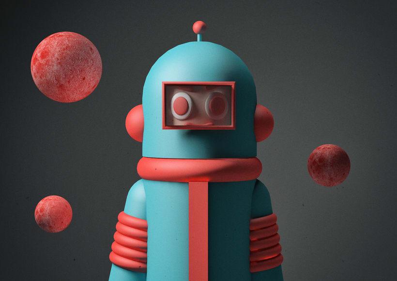 Diseño de personaje en 3D con el Cinema4D -1