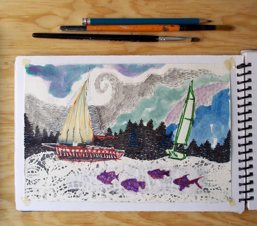 Páginas del cuaderno creativo  0