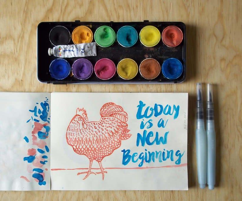 Páginas del cuaderno creativo 9. 0