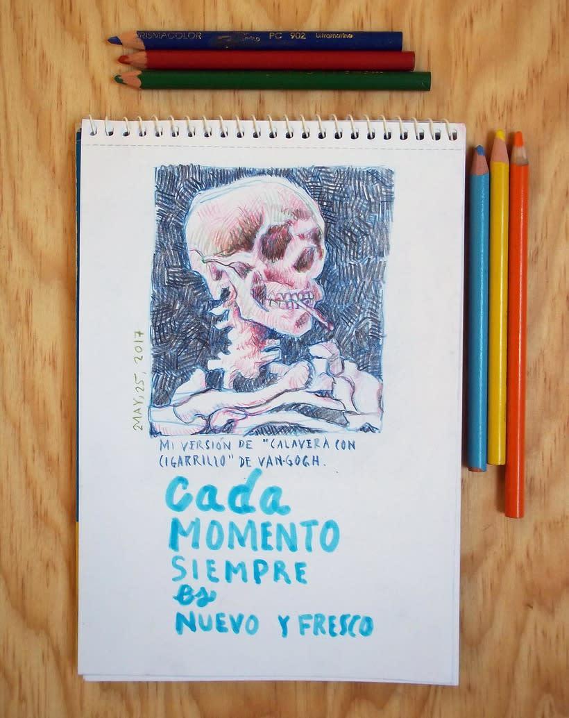 Páginas del cuaderno creativo 11. 0