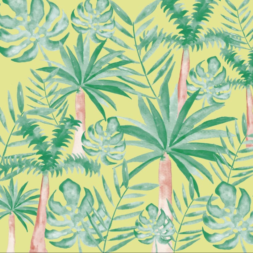 Tropical wallpaper -1