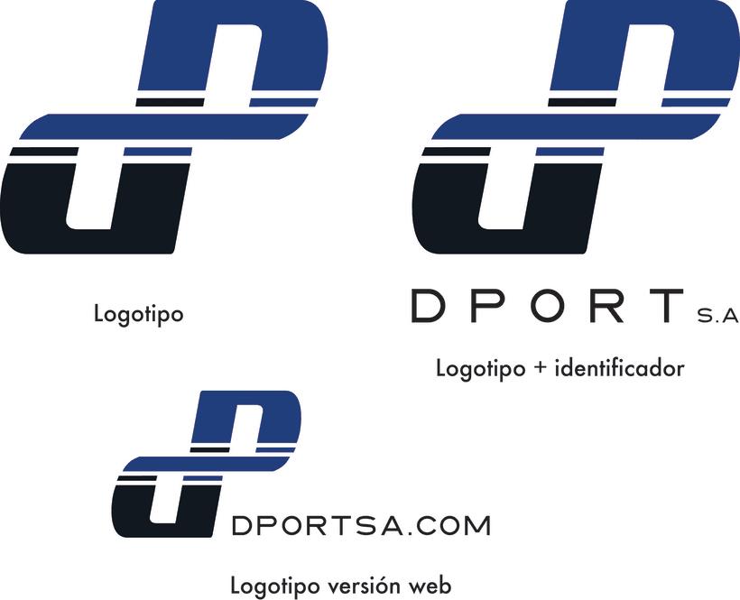 Diseño de Imagen Corporativa Dport 4