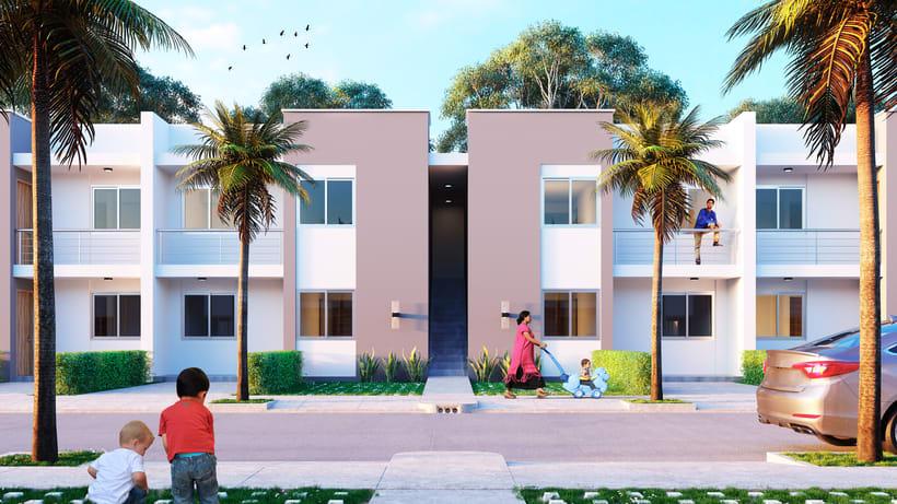 Casa Tipo Urb Los Rosales - Sincelejo/Colombia -1