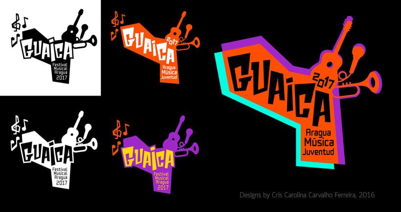 GUAICA MUSIC FESTIVAL - Brand DesignNuevo proyecto 0