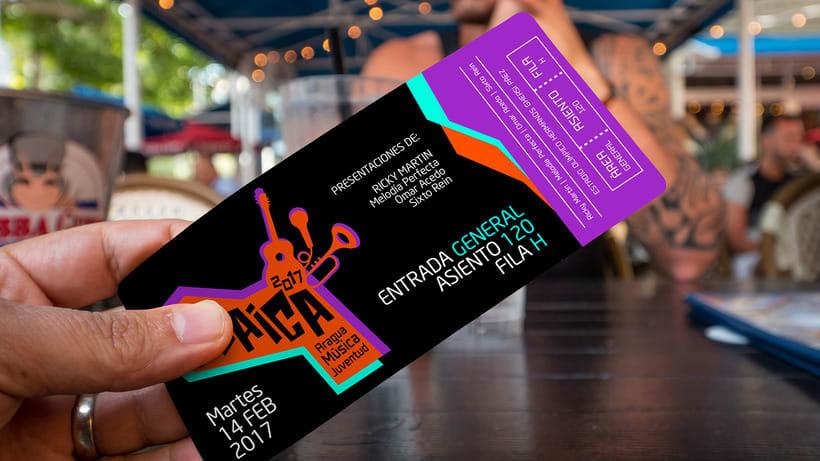 GUAICA MUSIC FESTIVAL - Brand DesignNuevo proyecto 3