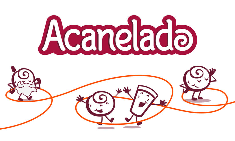 ACANELADO: Illustrated Branding and Character Design 0