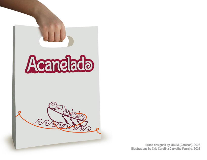 ACANELADO: Illustrated Branding and Character Design 4
