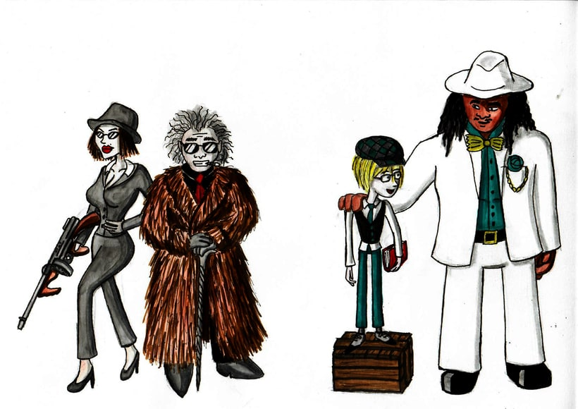 Diseño de personajes 16