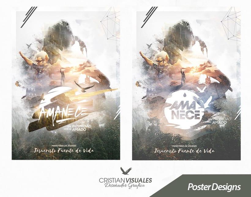 """Poster """"Amanecer"""" 1"""