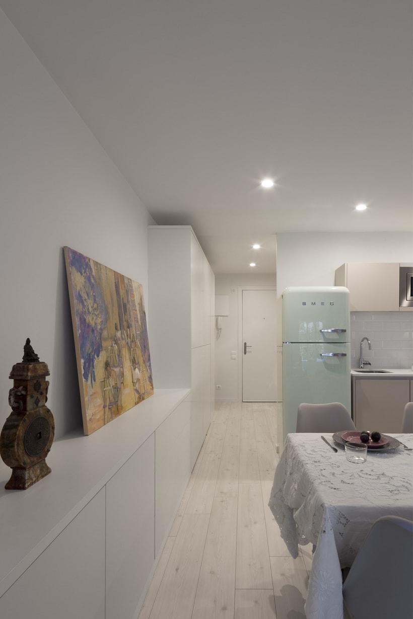 Fotos de interior del mini Loft diseñado por Zetas Studio  -1