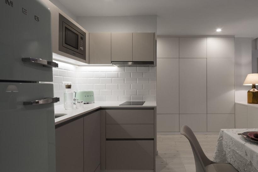 Fotos de interior del mini Loft diseñado por Zetas Studio  0