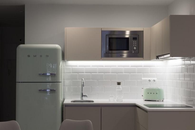 Fotos de interior del mini Loft diseñado por Zetas Studio  1