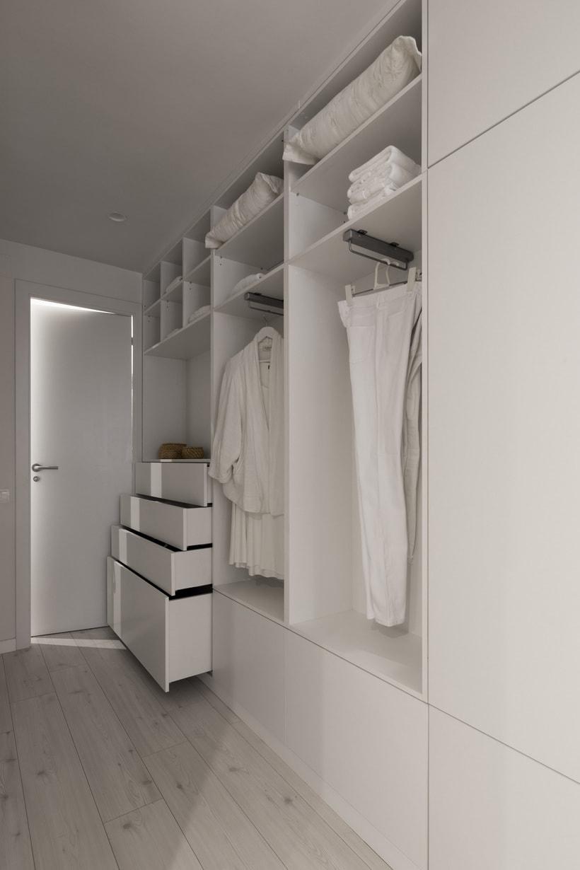 Fotos de interior del mini Loft diseñado por Zetas Studio  3