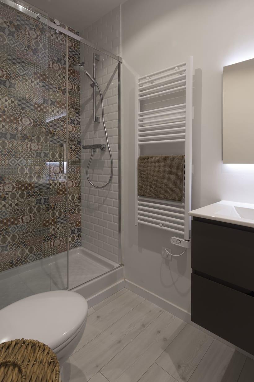 Fotos de interior del mini Loft diseñado por Zetas Studio  4