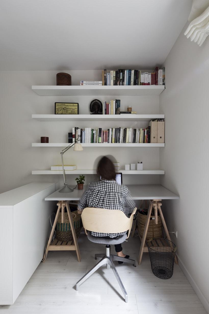 Fotos de interior del mini Loft diseñado por Zetas Studio  6