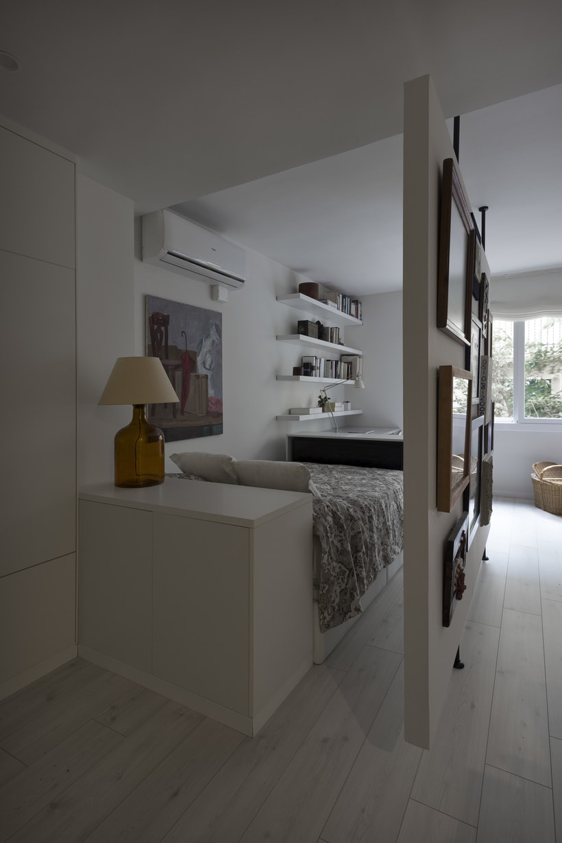 Fotos de interior del mini Loft diseñado por Zetas Studio  7