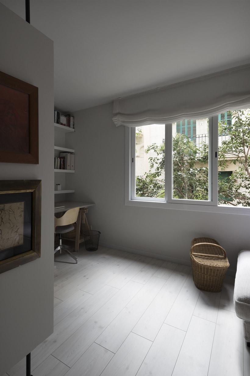 Fotos de interior del mini Loft diseñado por Zetas Studio  8