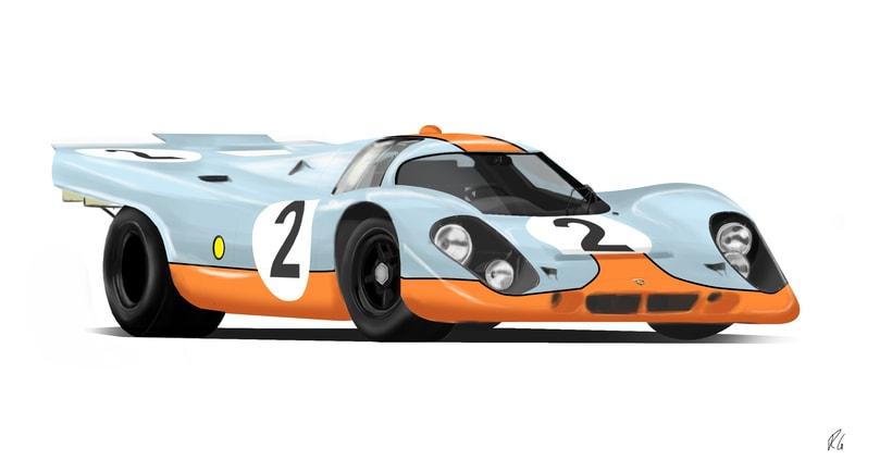 Porsche 917 Lemans -1