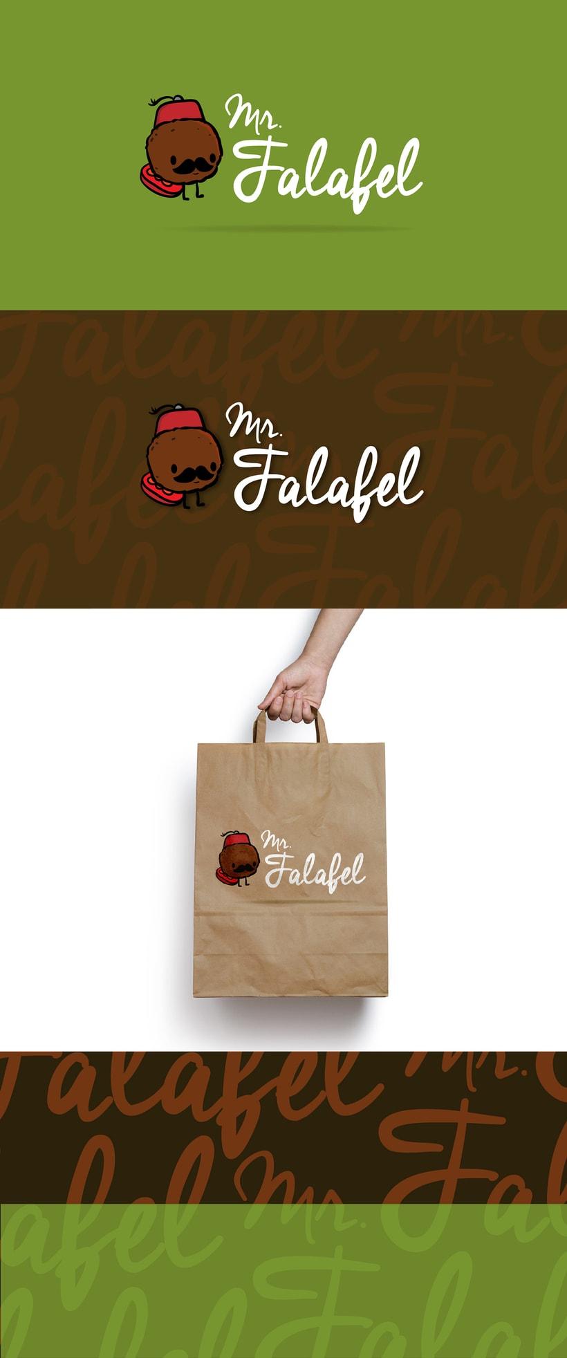 Branding | Mr. Falafel -1