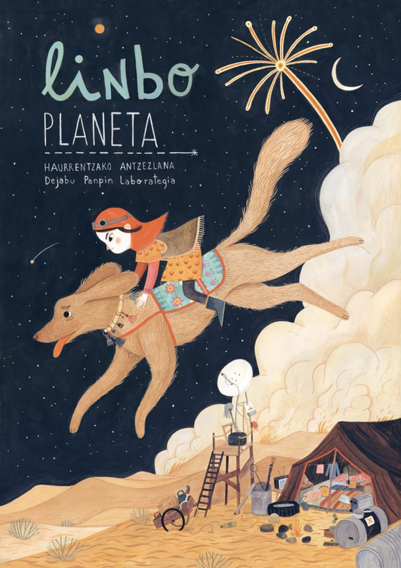 "Poster ""Limbo planeta"" 1"