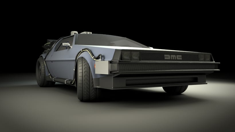 Delorean 3D 0