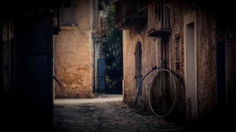 Bicicleta Vintage 3D -1