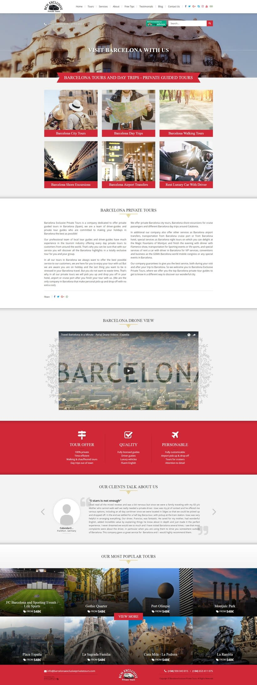 Barcelona Exclusive Private Tours 0