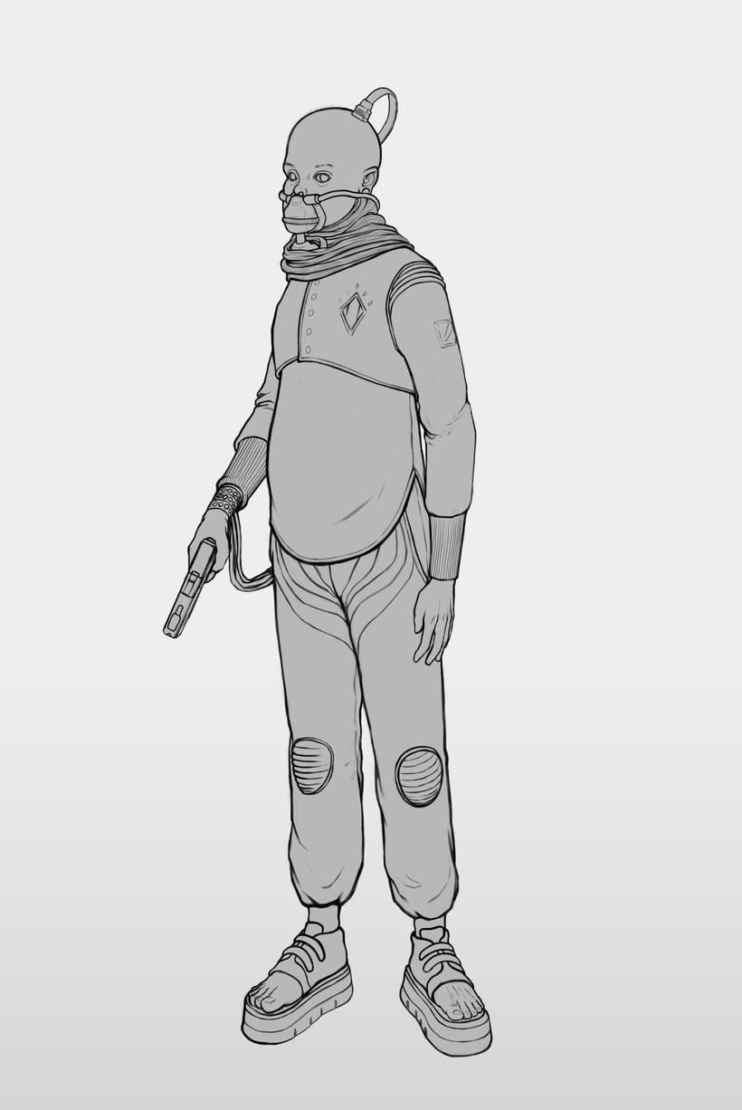 Diseño de Personajes 9