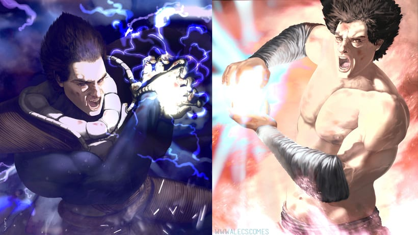 Vegeta VS Goku 3