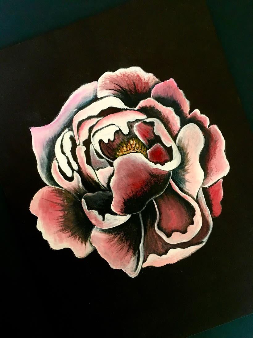 Ilustración Botánica realista -1