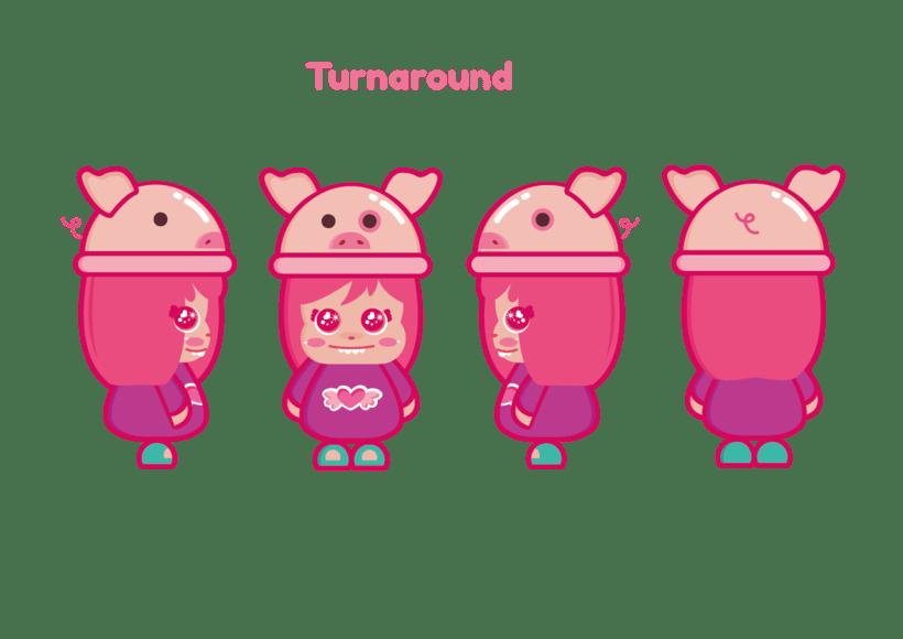 Mi Proyecto del curso: Crea un Art Toy - Piggy  2