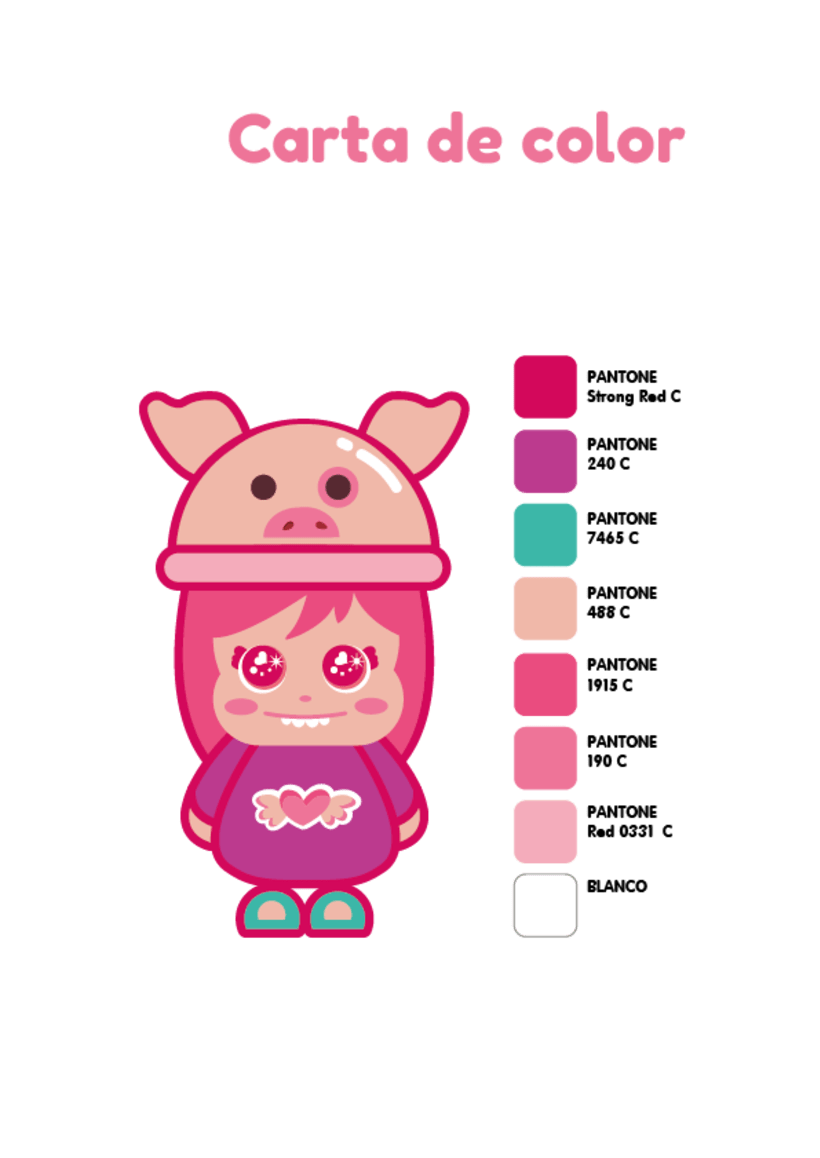 Mi Proyecto del curso: Crea un Art Toy - Piggy  3