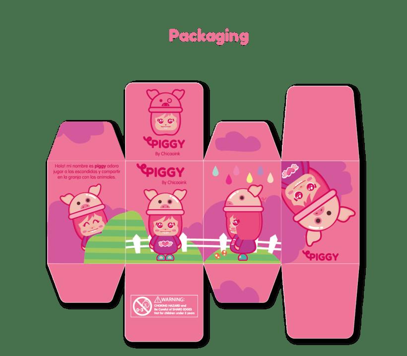Mi Proyecto del curso: Crea un Art Toy - Piggy  5