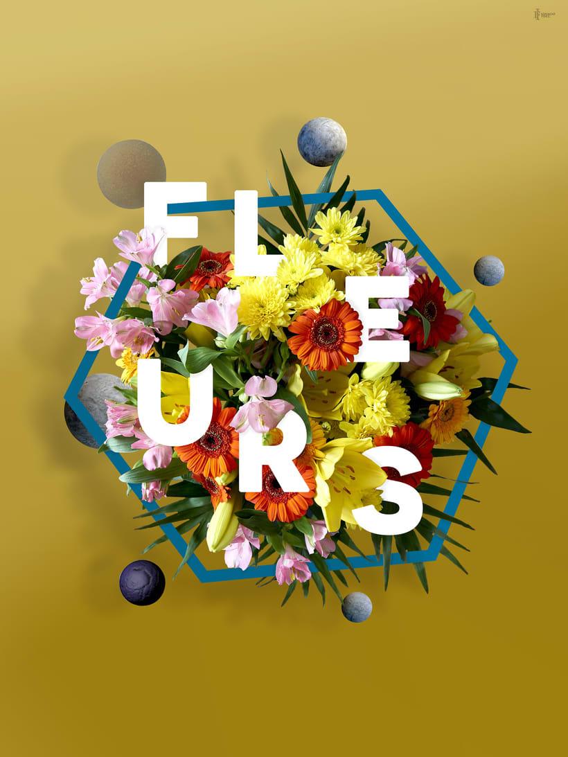 Título: Fleurs. | Proyecto: Yo y las ideas. 0