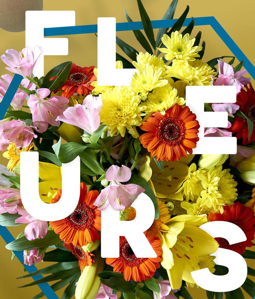 Título: Fleurs. | Proyecto: Yo y las ideas. 1