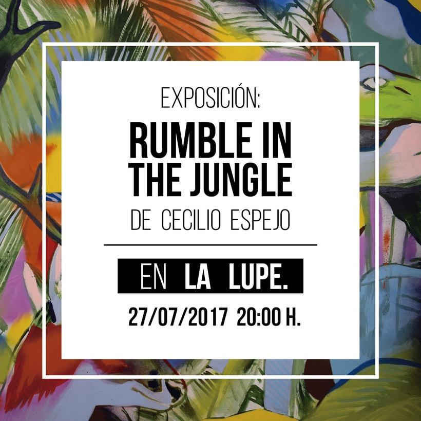 Exposición Rumble in the Jungle 0
