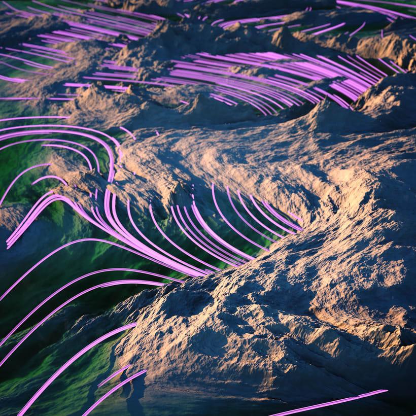 Estudio de X-Particles - Turbulence FD 2