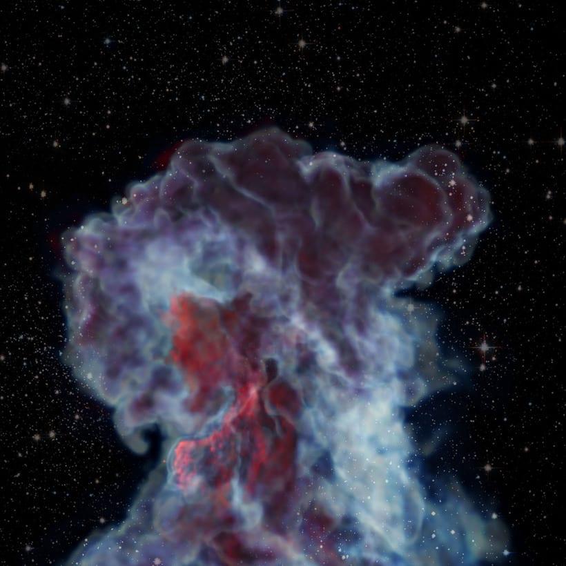 Estudio de X-Particles - Turbulence FD 11