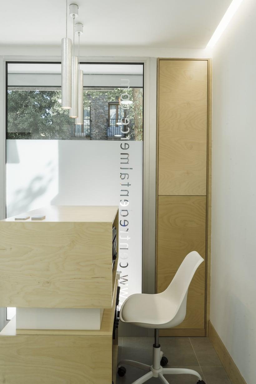 CENTRO DENTAL. Diseño de interior.Diseño de mobiliario a medida. 1