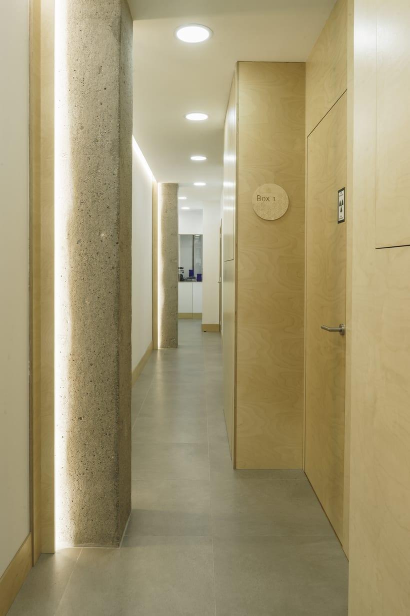 CENTRO DENTAL. Diseño de interior.Diseño de mobiliario a medida. 3
