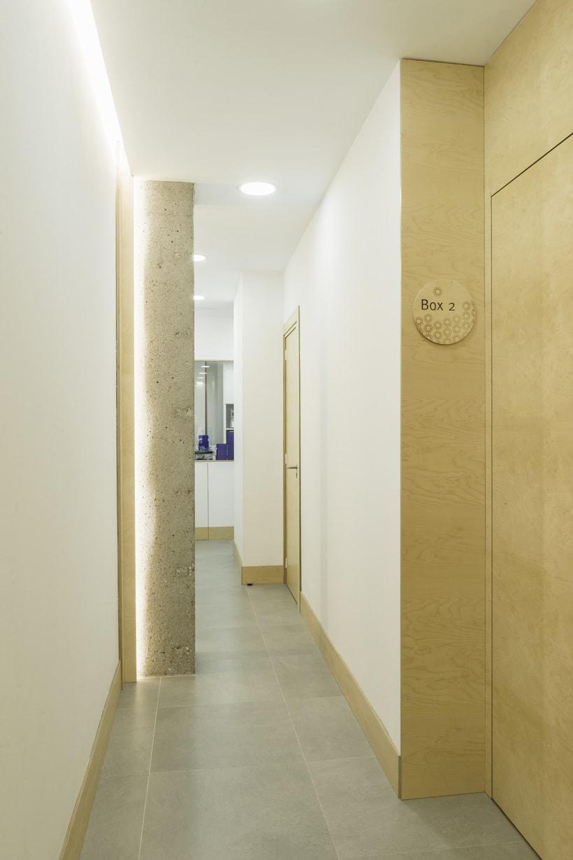 CENTRO DENTAL. Diseño de interior.Diseño de mobiliario a medida. 5