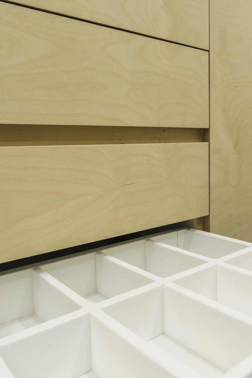CENTRO DENTAL. Diseño de interior.Diseño de mobiliario a medida. 15