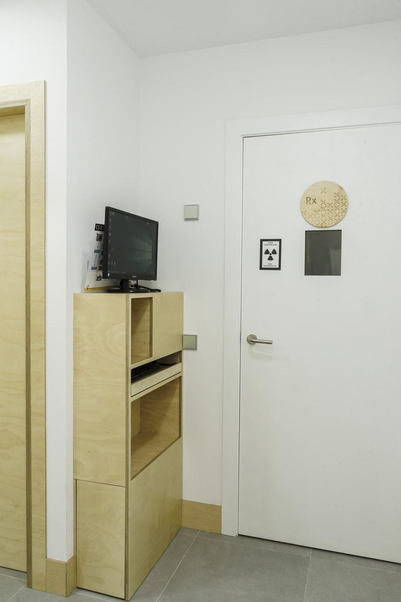 CENTRO DENTAL. Diseño de interior.Diseño de mobiliario a medida. 17