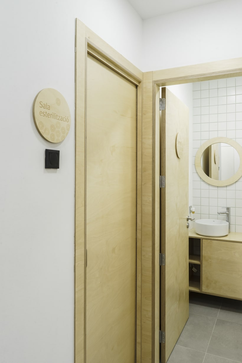 CENTRO DENTAL. Diseño de interior.Diseño de mobiliario a medida. 19