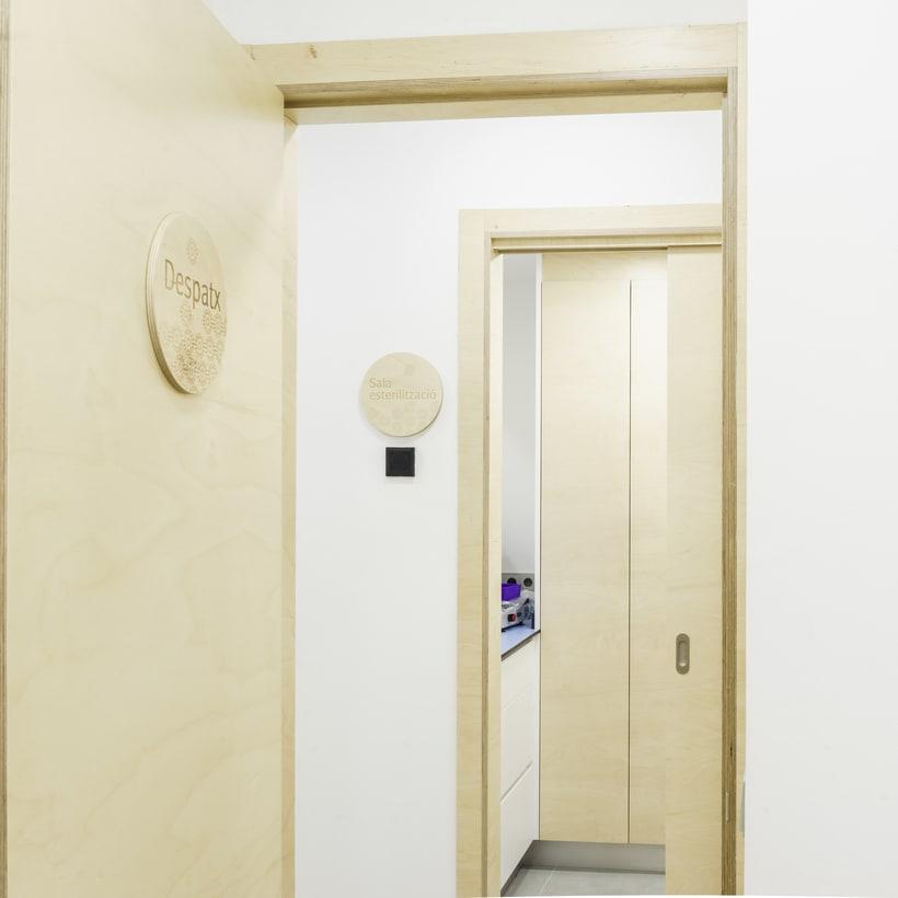 CENTRO DENTAL. Diseño de interior.Diseño de mobiliario a medida. 21