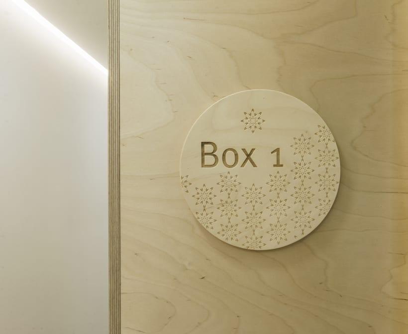 CENTRO DENTAL. Diseño de interior.Diseño de mobiliario a medida. 25